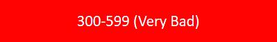 StartCredits creditscore 300 - 599